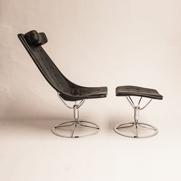 Jetson Lounge Chair and Stool